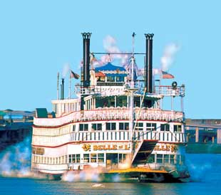 The Belle of Louisville Paddlewheel Steamboat